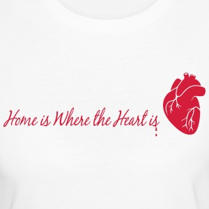 home is where the heart is - Women's Organic T-shirt