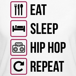 Eat Sleep Hip Hop Repeat - Women's Organic T-shirt