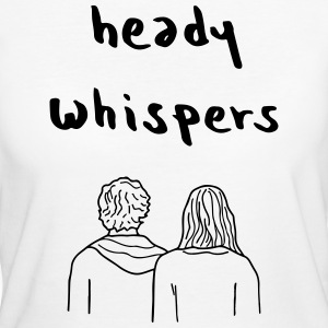 HEADY WHISPERS EP - Women's Organic T-shirt