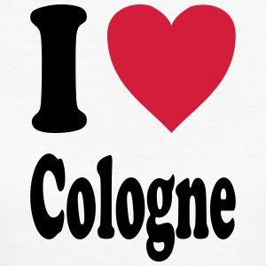I love Cologne - Frauen Bio-T-Shirt