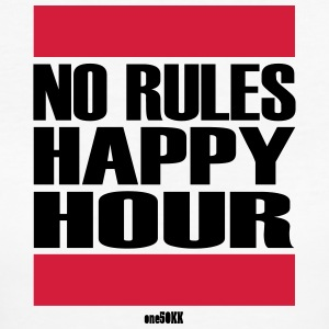 No Rules Happy Hour - Frauen Bio-T-Shirt