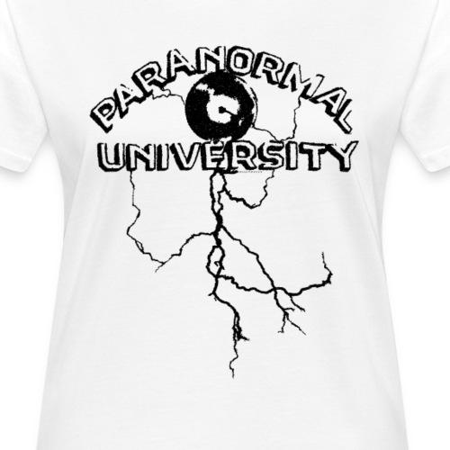 Paranormal University (black) - Frauen Bio-T-Shirt
