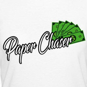 PAPER CHASER TEES - Women's Organic T-shirt