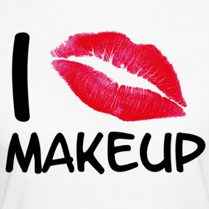 I love makeup - Women's Organic T-shirt