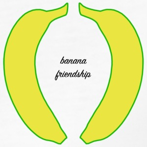 Banana friendship 1 - Women's Organic T-shirt