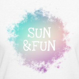 Sun and Fun - T-shirt Bio Femme