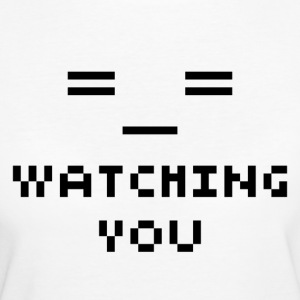 Watching You - T-shirt Bio Femme