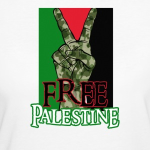 Free Palestine - Peace - Save Gaza T-Shirt - Frauen Bio-T-Shirt
