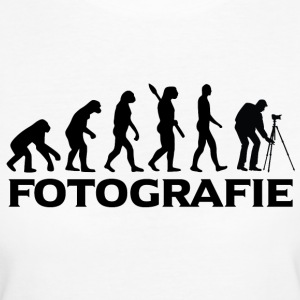 evolution FOTOGRAFIE bt - Frauen Bio-T-Shirt