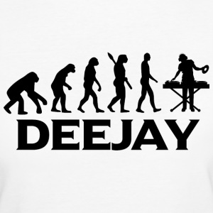 evolution DEEJAY DJ Djing bt - Frauen Bio-T-Shirt
