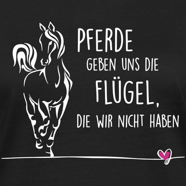 Vorschau: Pferd Flügel - Frauen Bio-T-Shirt