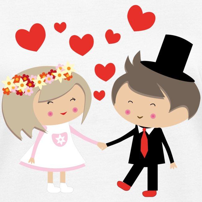Happy Meitlis - Hochzeitspaar