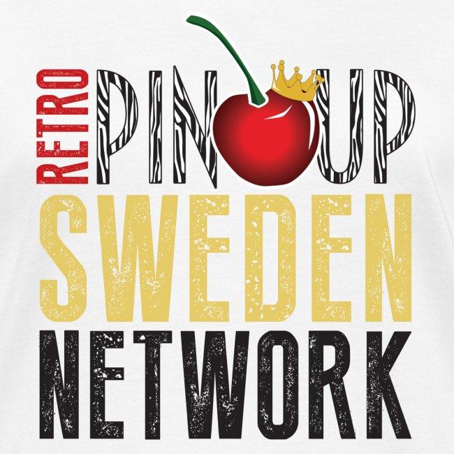 Tanktop Retro Pinup Sweden Crew utsvängd