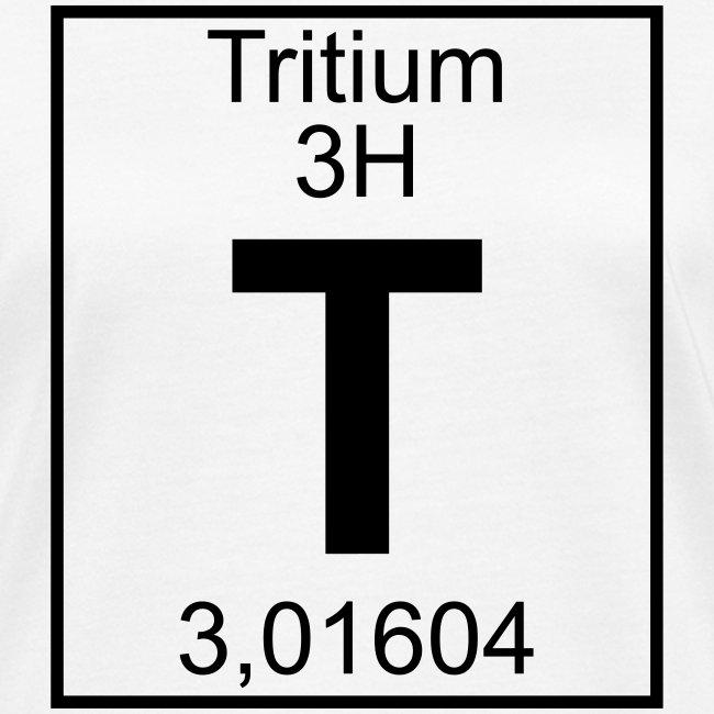 T (tritium) - Element 3H - pfll