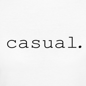 casual. - Women's Organic T-shirt