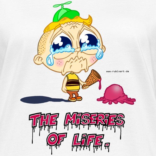 The Miseries of Life Eiscreme Eis Kind