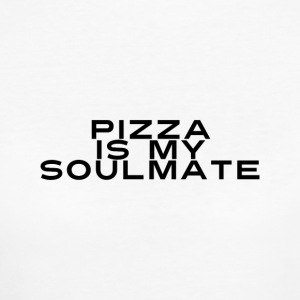 PIZZA IS MY SOULMATE - Frauen Bio-T-Shirt