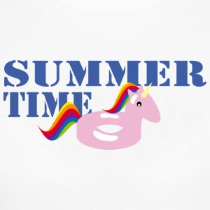 Summerime Unicorn - Vrouwen Bio-T-shirt