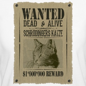 Schrödingers katt - Wanted Dead and Alive - Økologisk T-skjorte for kvinner