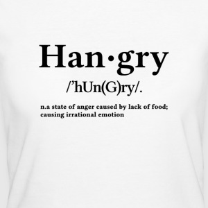 Hangry - Camiseta ecológica mujer