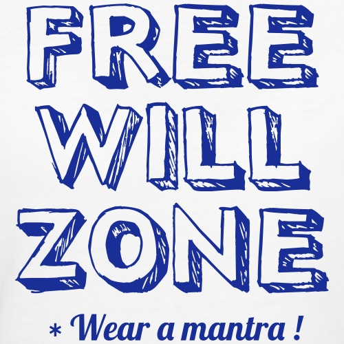 FREE WILL ZONE - T-shirt ecologica da donna