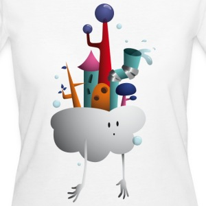 Cloud Village - Vrouwen Bio-T-shirt