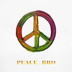 PEACE sign - PEACE BRO - Vrouwen Bio-T-shirt