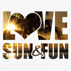 Love, Sun & Fun - Ekologisk T-shirt dam