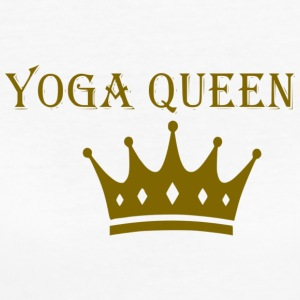 Yoga Queen - Frauen Bio-T-Shirt