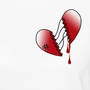 broken heart - Women's Organic T-shirt