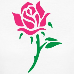 Rose - Frauen Bio-T-Shirt