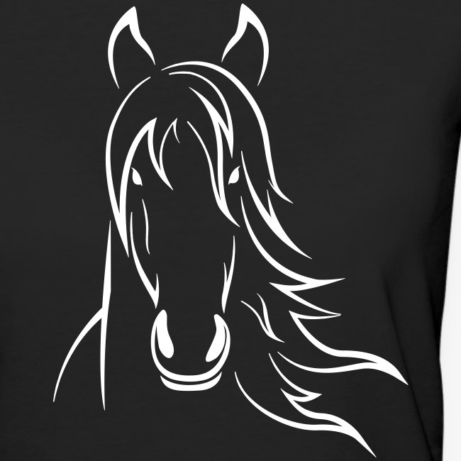 Vorschau: Horse - Frauen Bio-T-Shirt