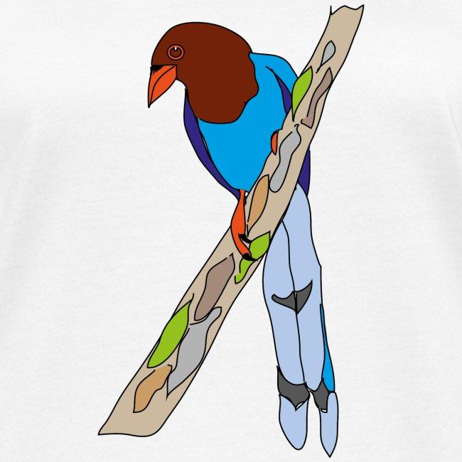 Blue-Magpie
