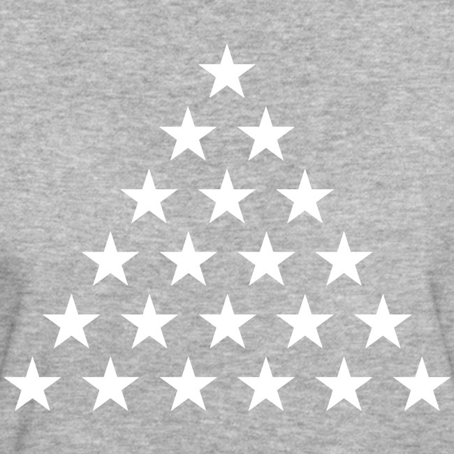 1-6 stjerner (sort)