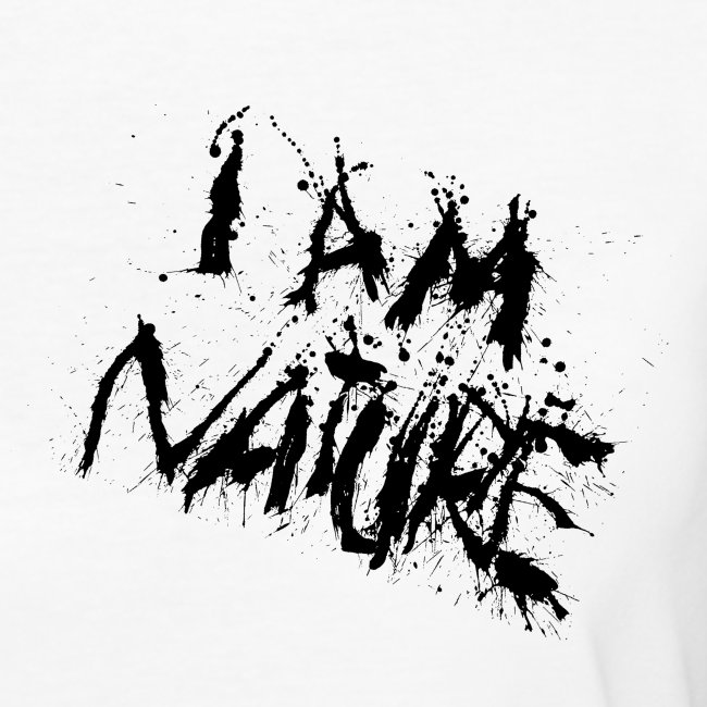 I AM NATURE (backprint)