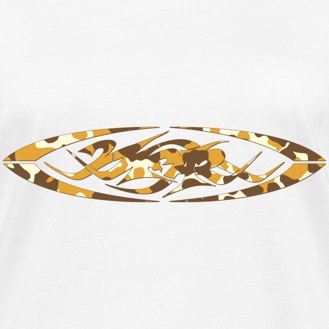 2wear original logo cammo orange
