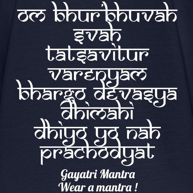 OM Bhur Bhuva Svaha