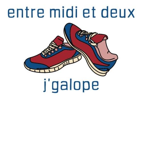 Galope blue - AW20/21 - T-shirt bio Femme