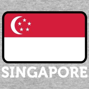 National Flag Of Singapore - Ekologisk T-shirt dam