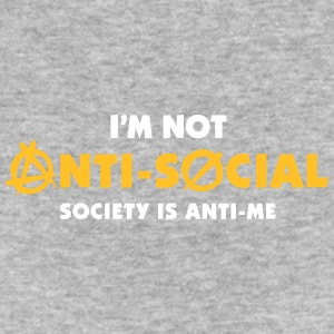 I'm Not Anti-social. You Do Not Like Me! - Women's Organic T-shirt