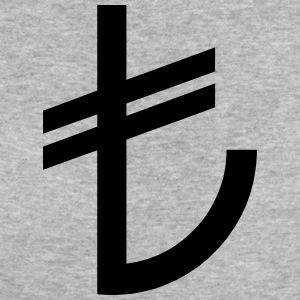 Turkse Lira Currency TL - Vrouwen Bio-T-shirt