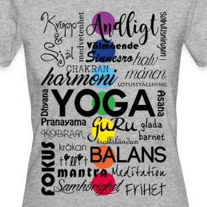yoga_ord - Frauen Bio-T-Shirt