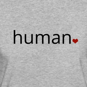Human - more than just a print. - Women's Organic T-shirt