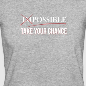 Impossible Possible - Prendete il vostro caso - T-shirt ecologica da donna