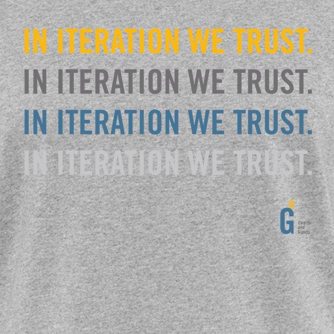 In iteration we trust II