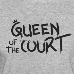 Queen of the court - Økologisk T-skjorte for kvinner