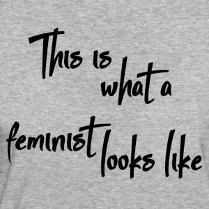 This Is What a Feminist Looks Like - Camiseta ecológica mujer