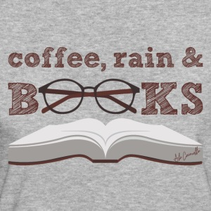 Coffee, rain & books - Women's Organic T-shirt