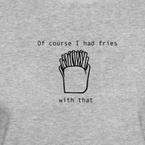 Fries with that p 01 - T-shirt Bio Femme