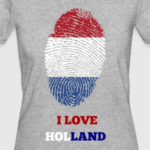 I LOVE HOLLAND T-SHIRT - Organic damer